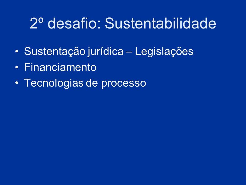 2º desafio: Sustentabilidade