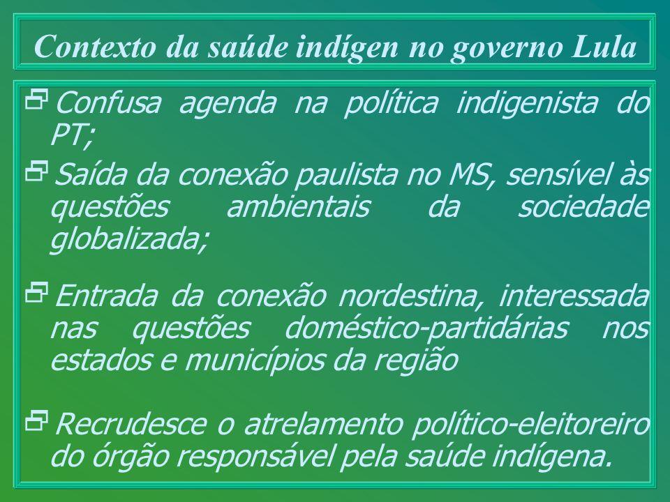 Contexto da saúde indígen no governo Lula
