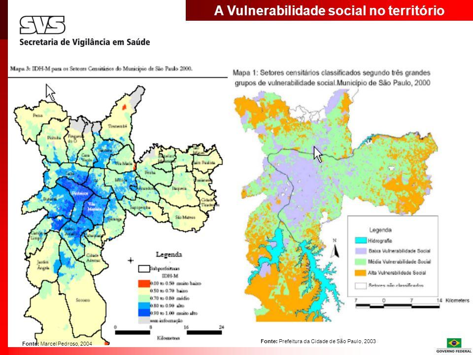 A Vulnerabilidade social no território