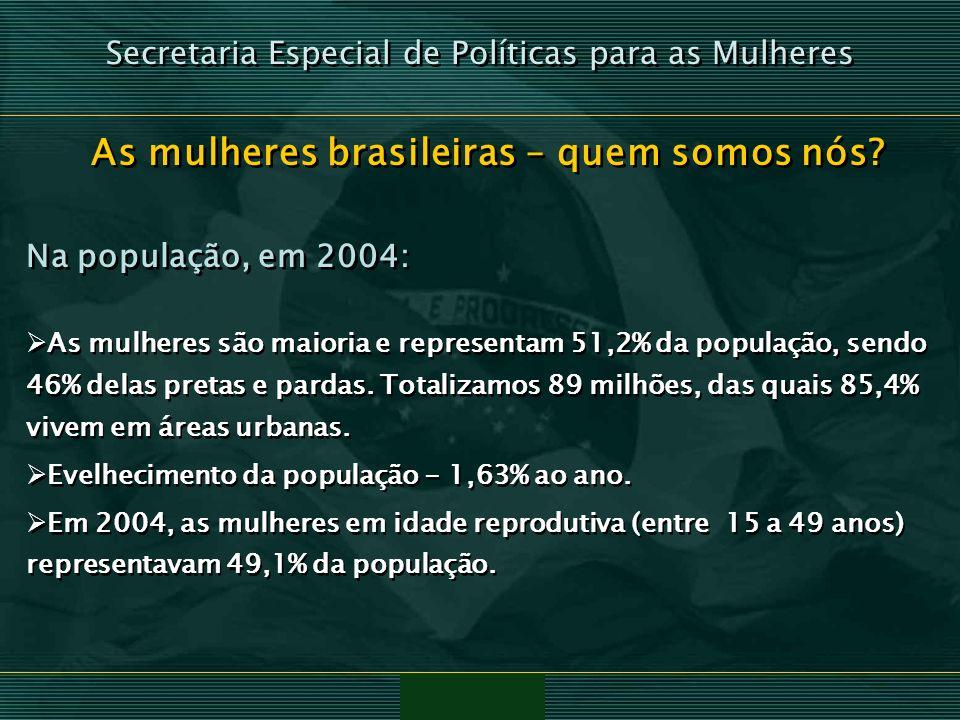 As mulheres brasileiras – quem somos nós