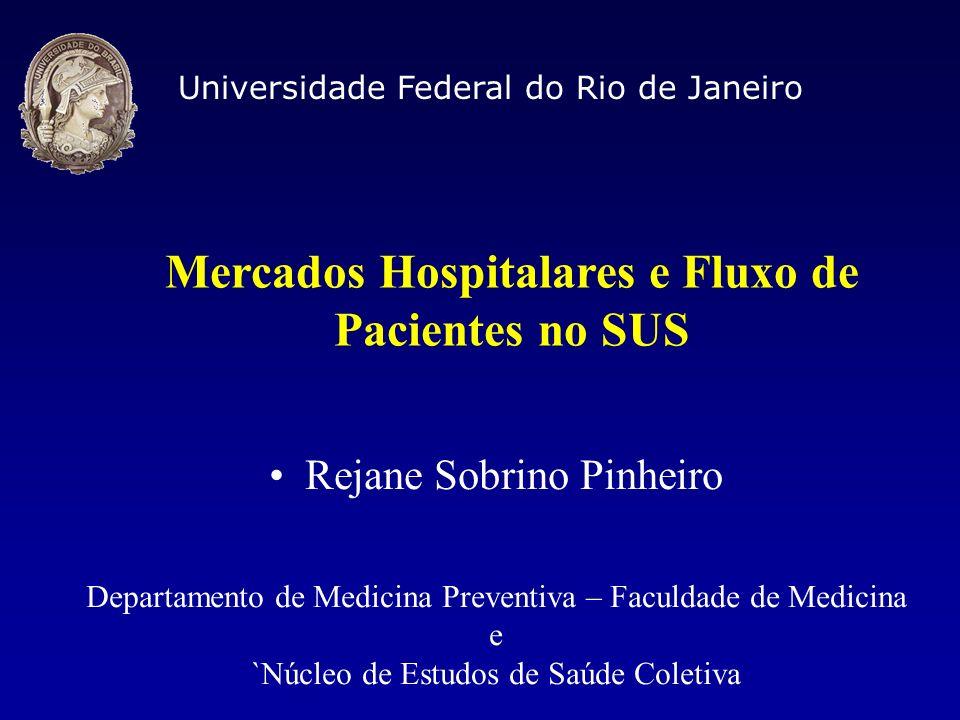 Mercados Hospitalares e Fluxo de Pacientes no SUS