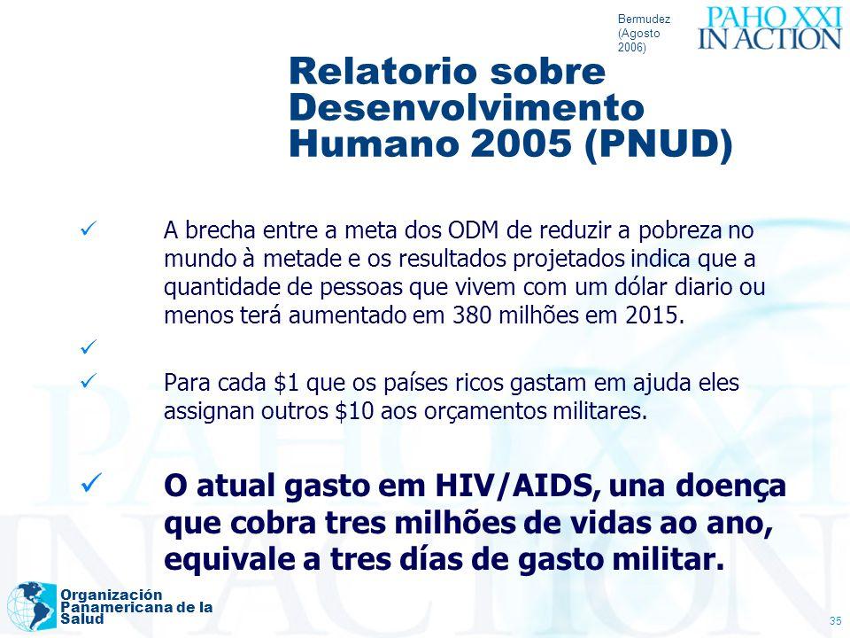 Relatorio sobre Desenvolvimento Humano 2005 (PNUD)