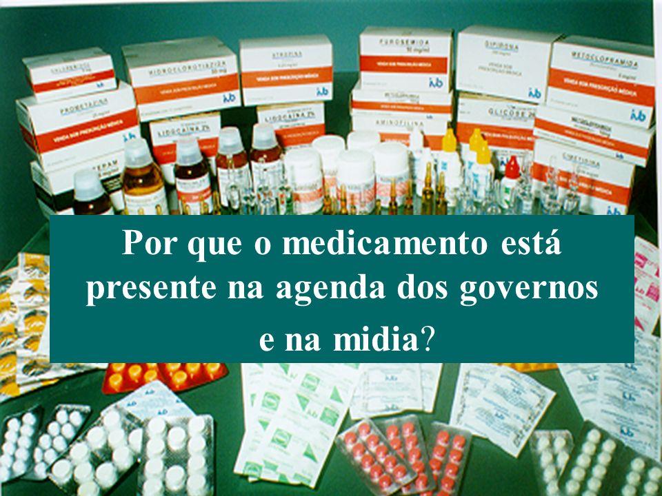 Por que o medicamento está presente na agenda dos governos