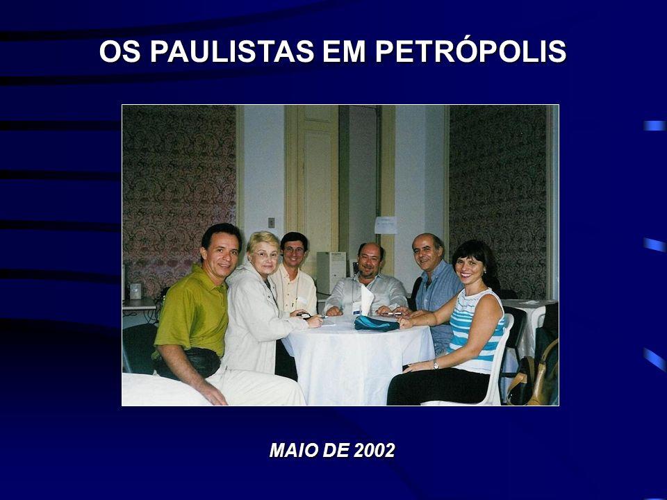 OS PAULISTAS EM PETRÓPOLIS