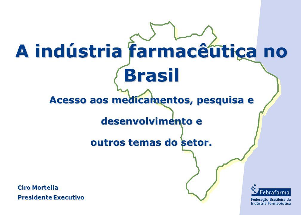 A indústria farmacêutica no Brasil