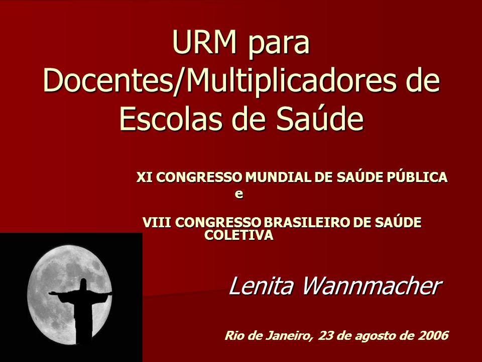 URM para Docentes/Multiplicadores de Escolas de Saúde