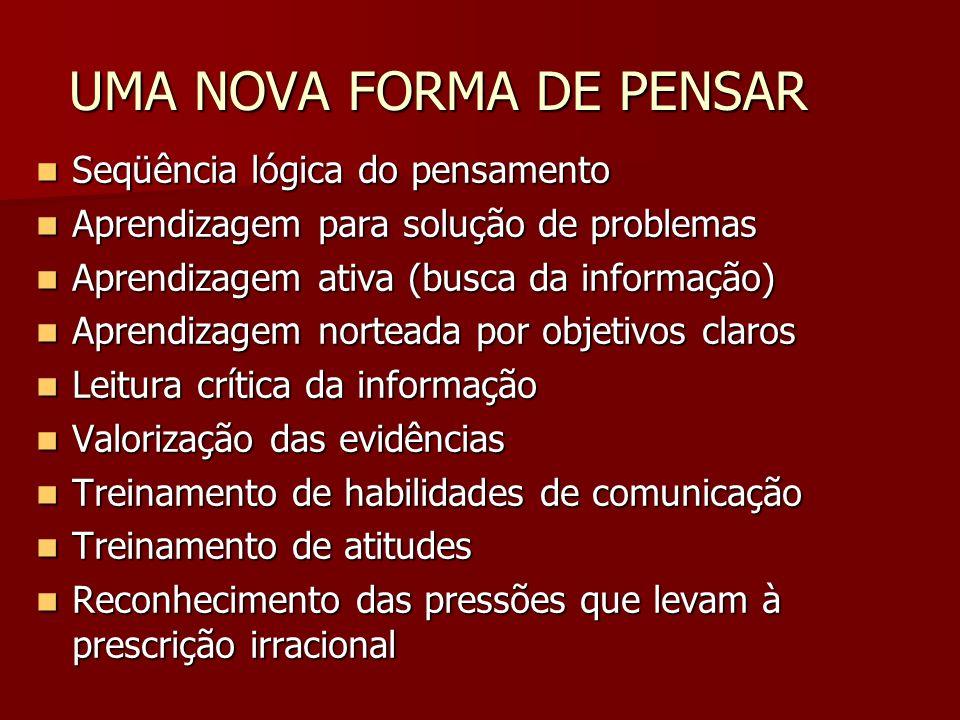 UMA NOVA FORMA DE PENSAR