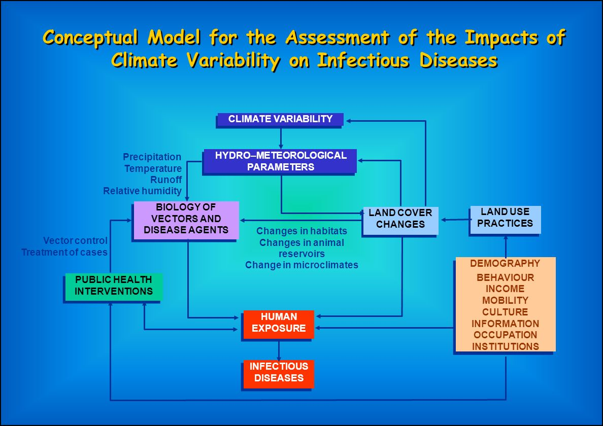 Conceptual Model for the Assessment of the Impacts of Climate Variability on Infectious Diseases