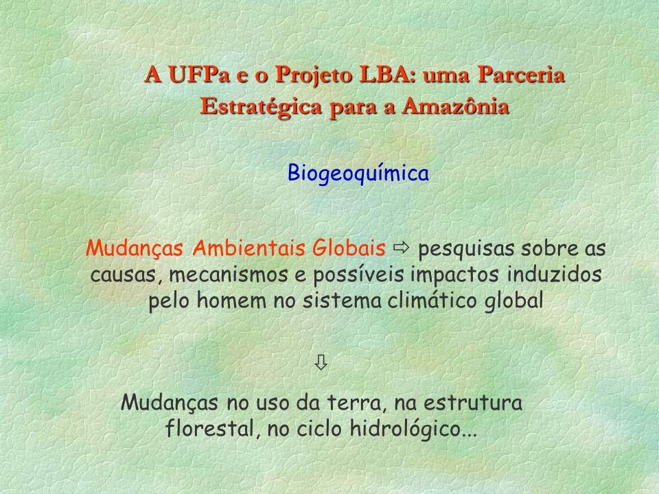 A UFPa e o Projeto LBA: uma Parceria Estratégica para a Amazônia