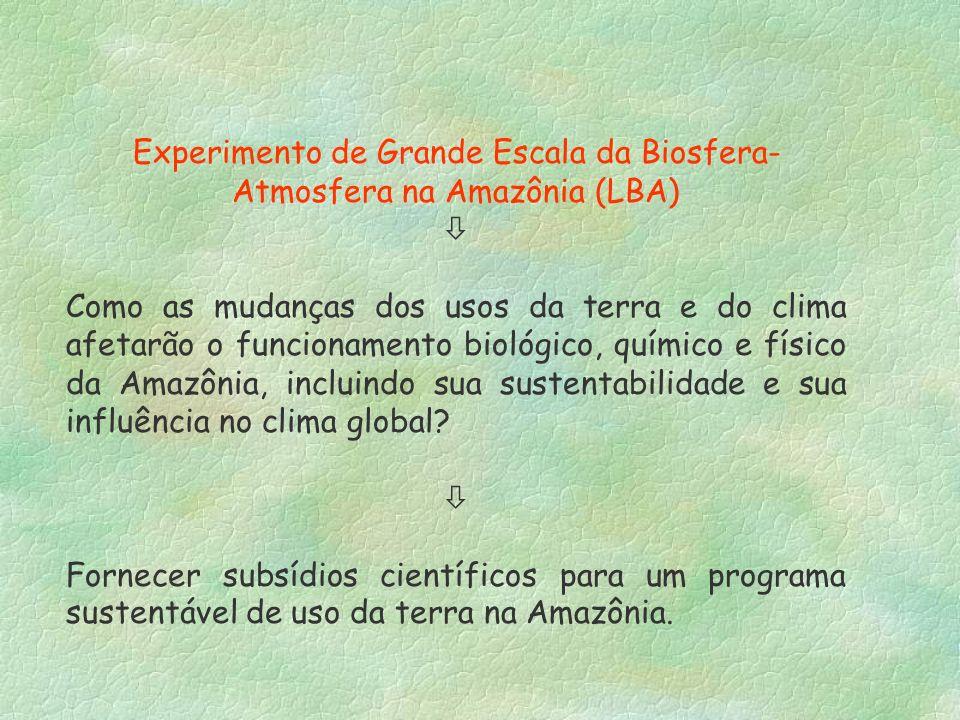 Experimento de Grande Escala da Biosfera-Atmosfera na Amazônia (LBA)