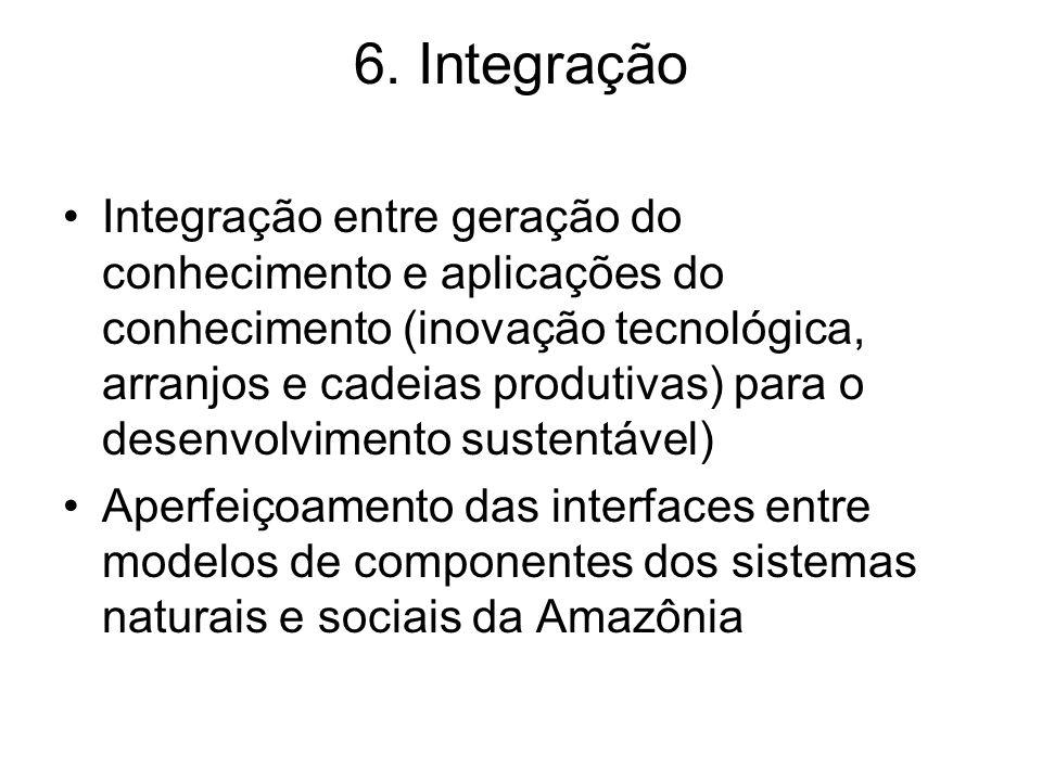 6. Integração