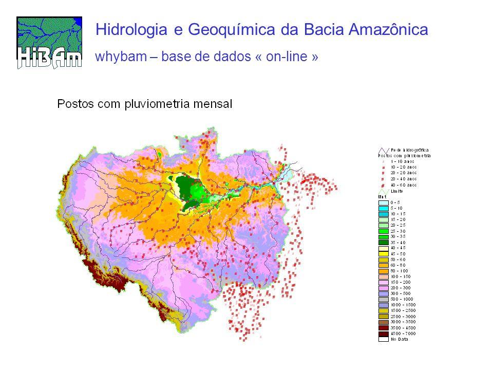 Hidrologia e Geoquímica da Bacia Amazônica