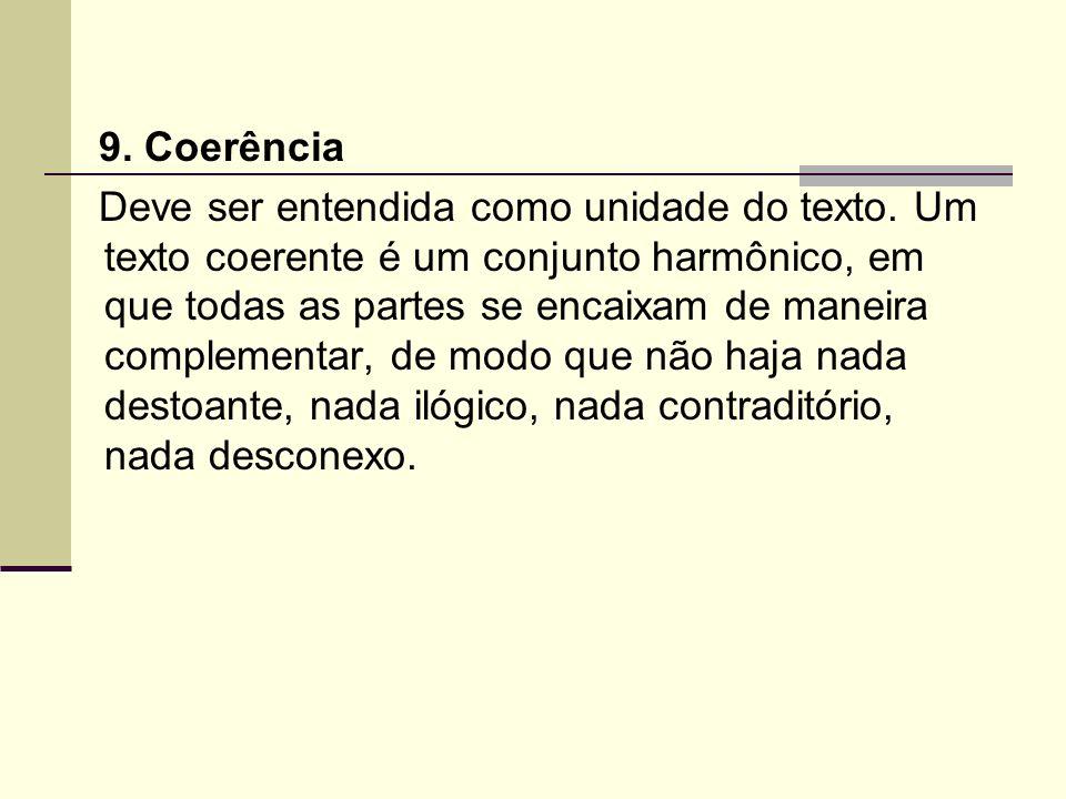 9. Coerência