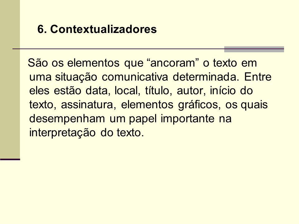 6. Contextualizadores