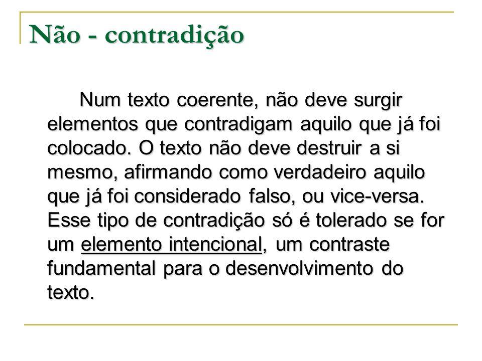 Não - contradição