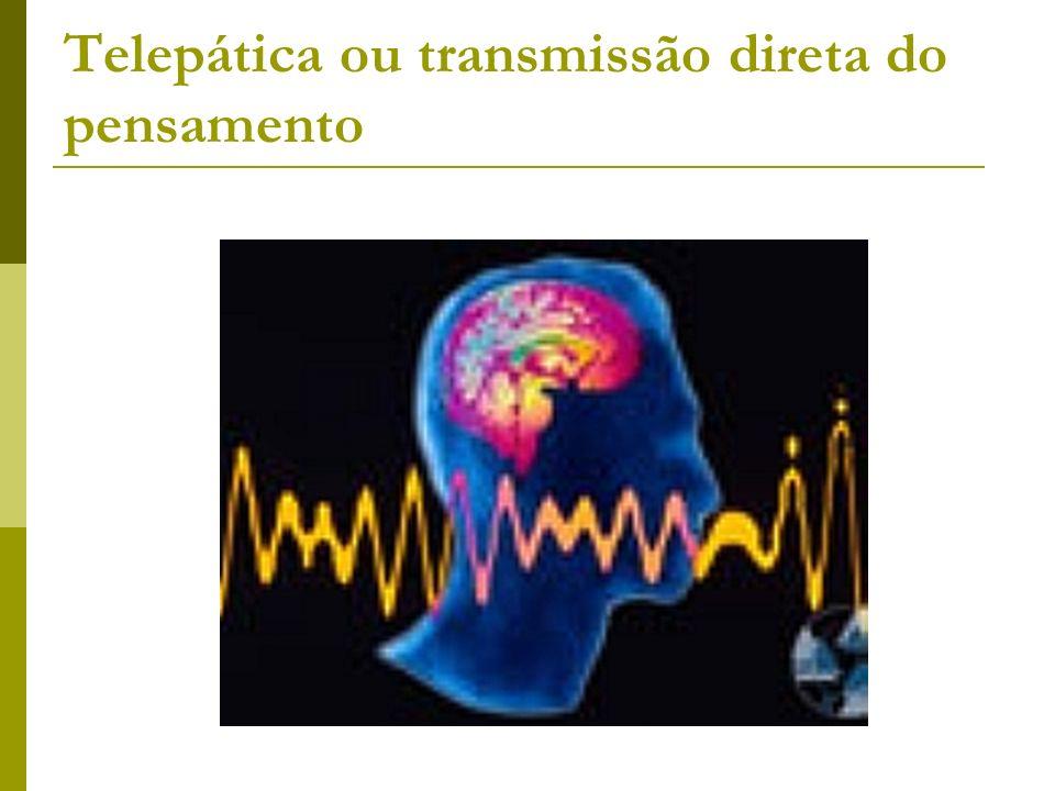 Telepática ou transmissão direta do pensamento