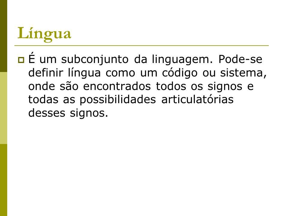 Língua