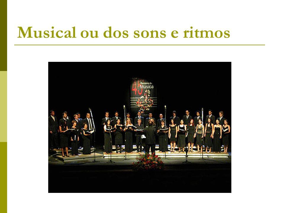 Musical ou dos sons e ritmos