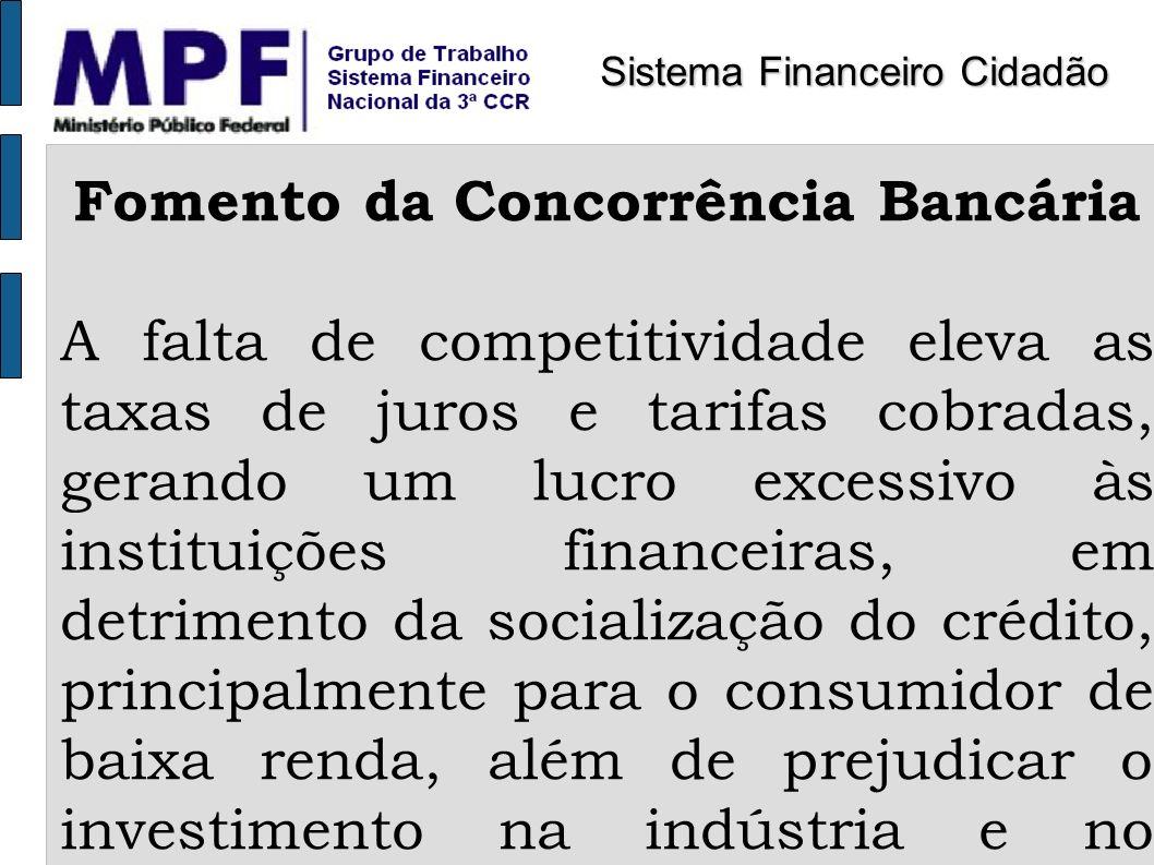 Fomento da Concorrência Bancária