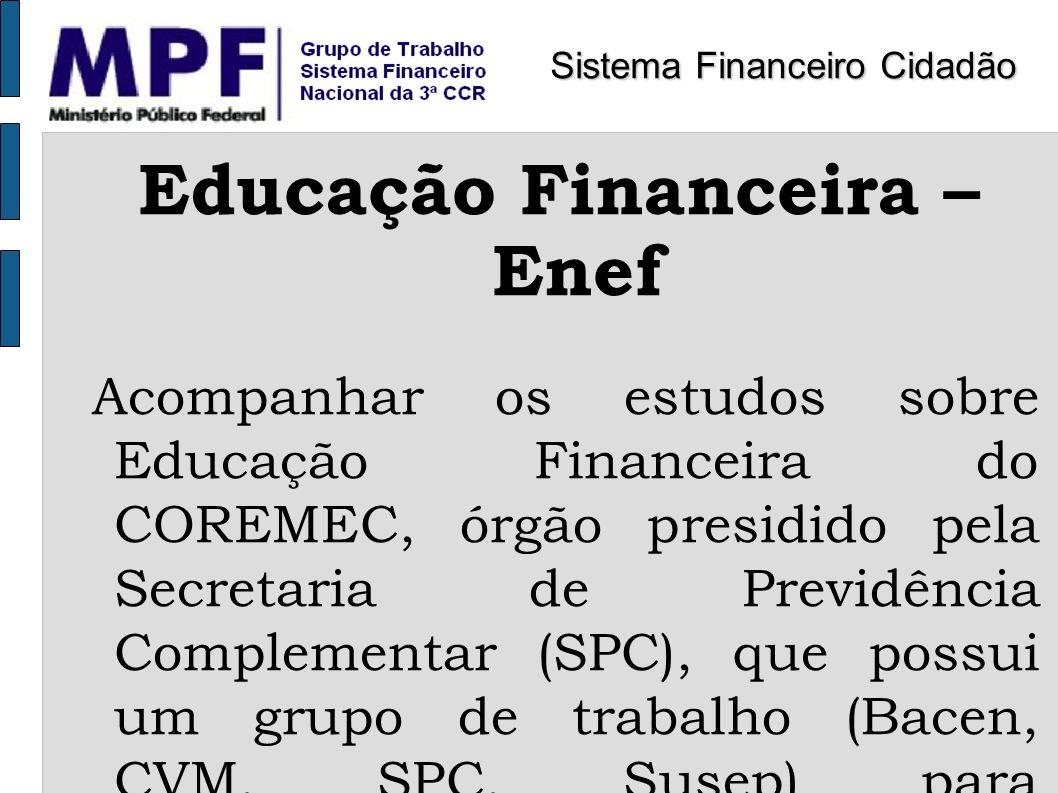 Educação Financeira – Enef