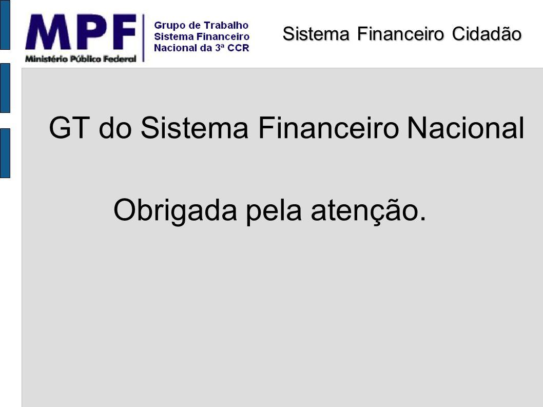 GT do Sistema Financeiro Nacional