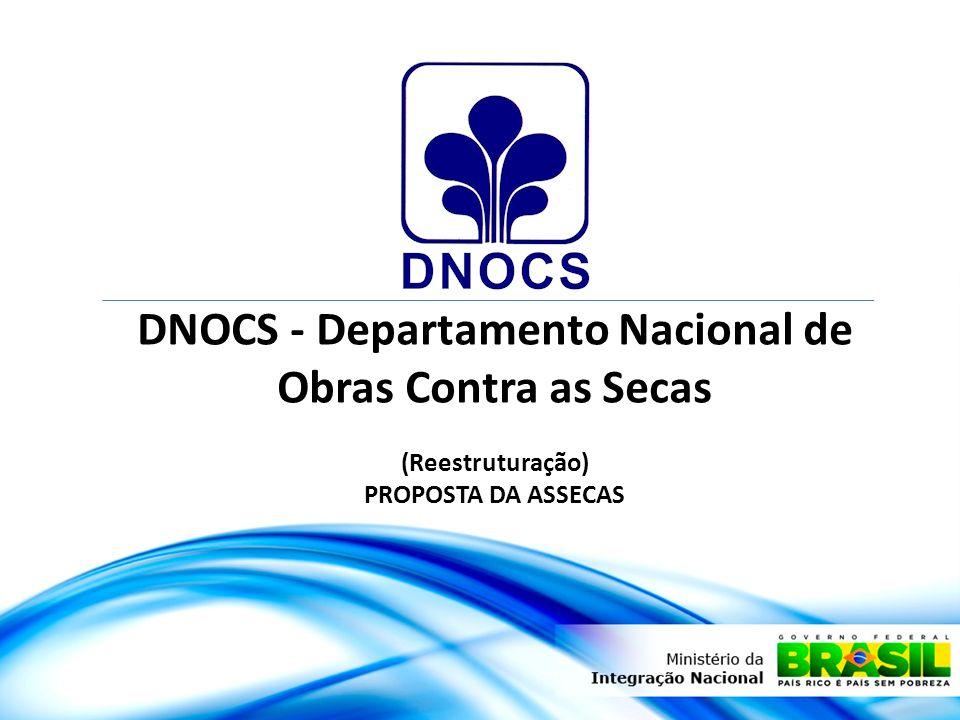 DNOCS - Departamento Nacional de Obras Contra as Secas