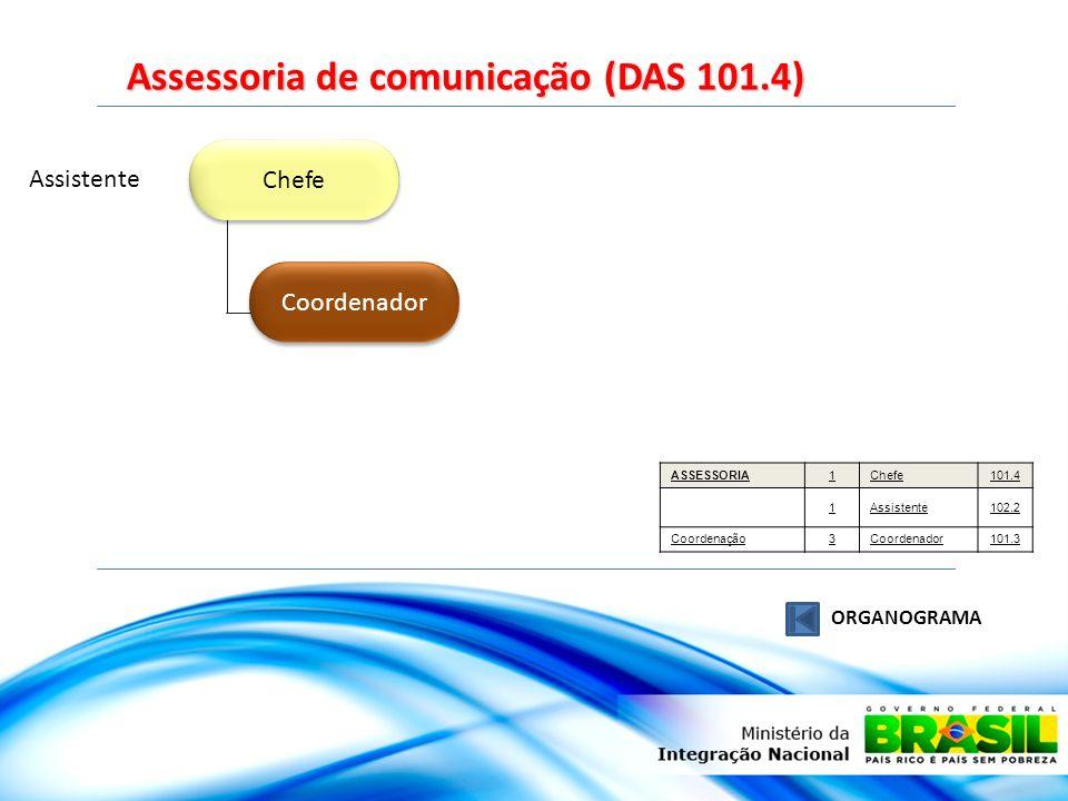 Assessoria de comunicação (DAS 101.4)