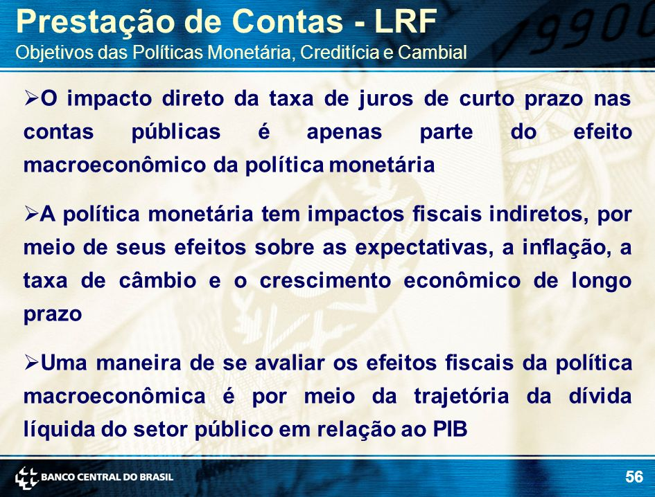 Prestação de Contas - LRF