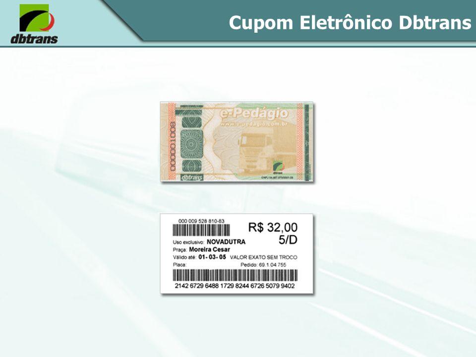 Cupom Eletrônico Dbtrans