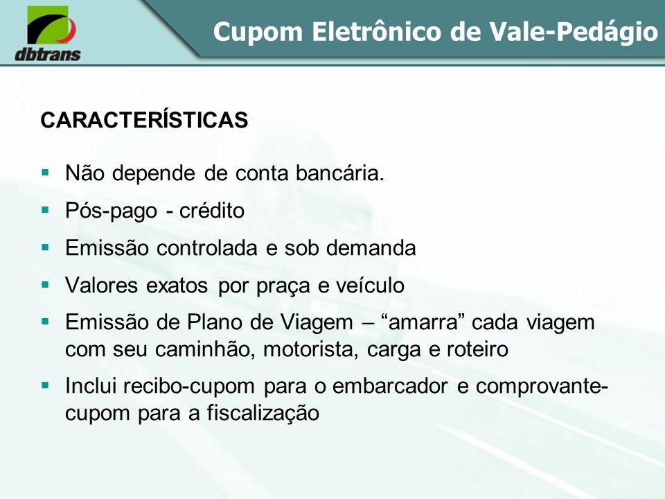 Cupom Eletrônico de Vale-Pedágio