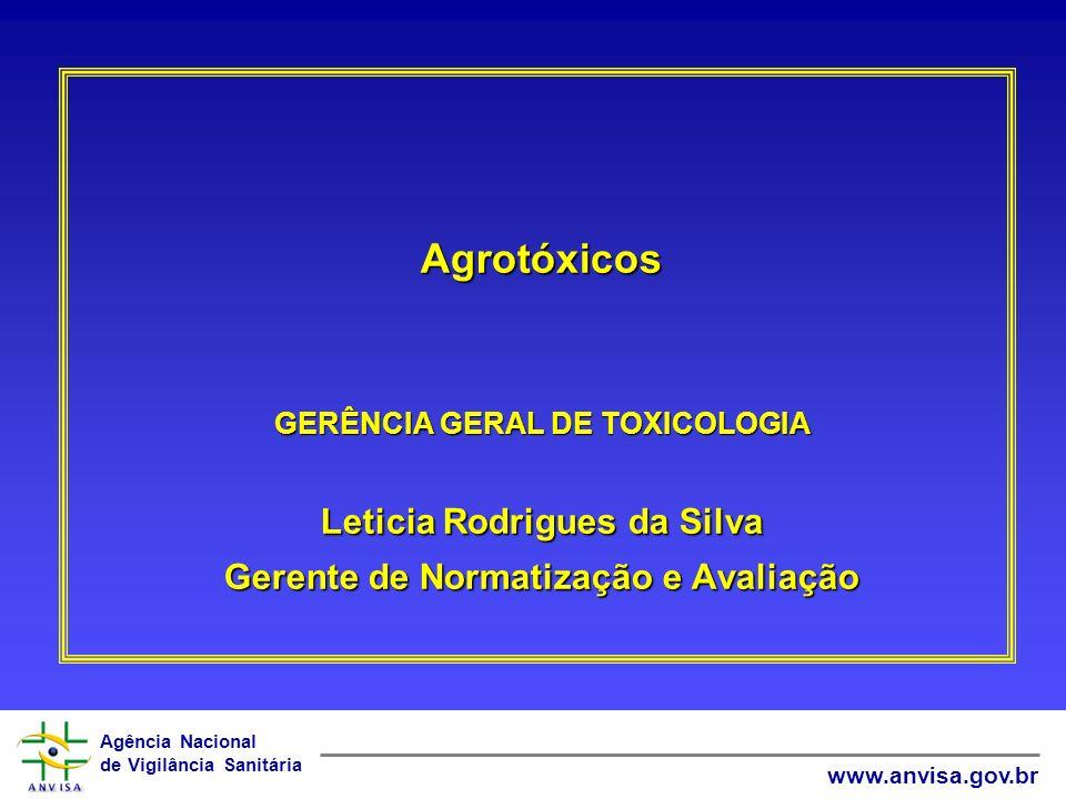 Agrotóxicos Leticia Rodrigues da Silva