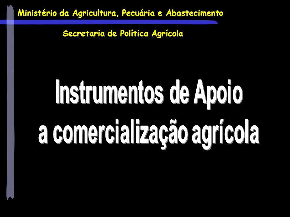 a comercialização agrícola