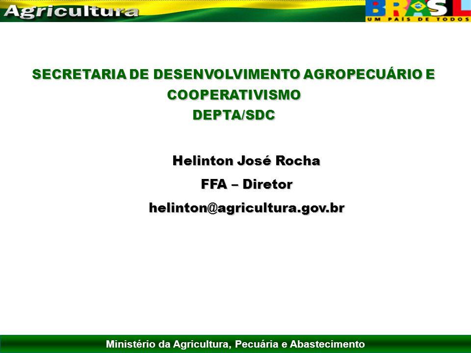 SECRETARIA DE DESENVOLVIMENTO AGROPECUÁRIO E COOPERATIVISMO
