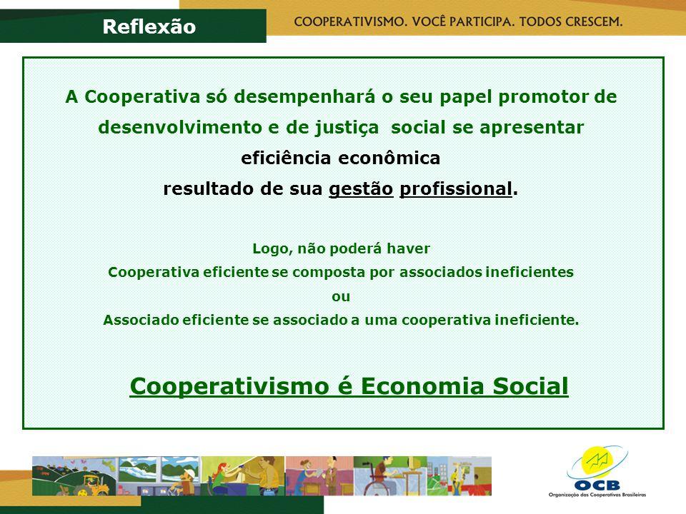 Cooperativismo é Economia Social