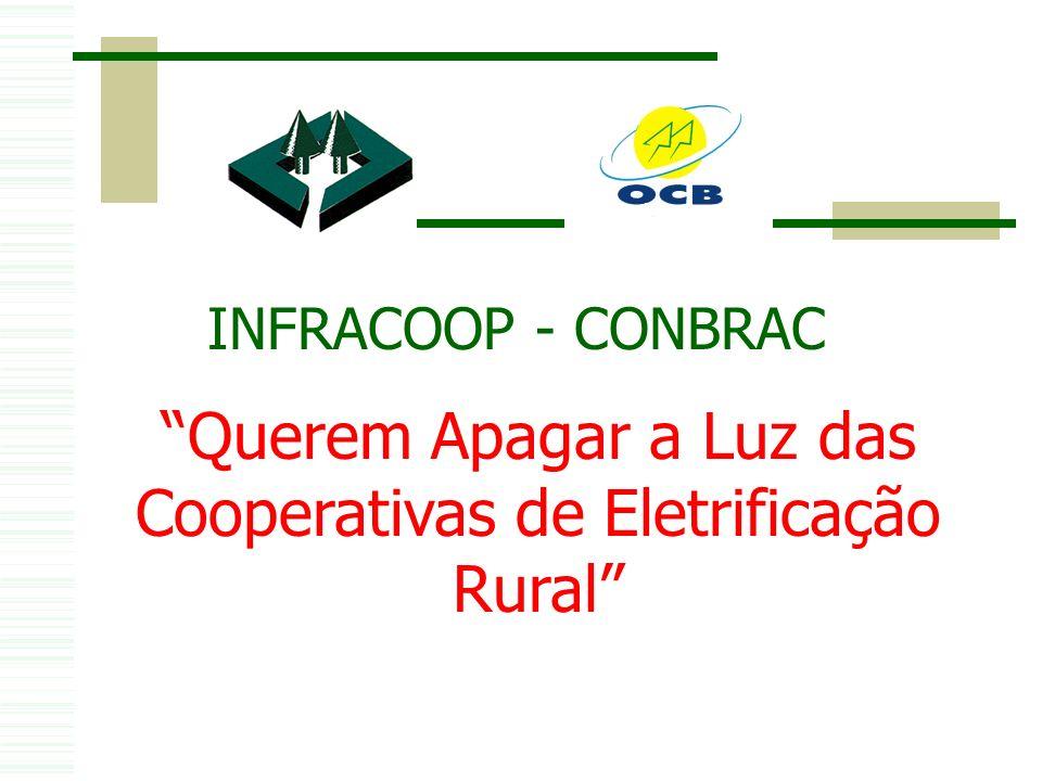Querem Apagar a Luz das Cooperativas de Eletrificação Rural