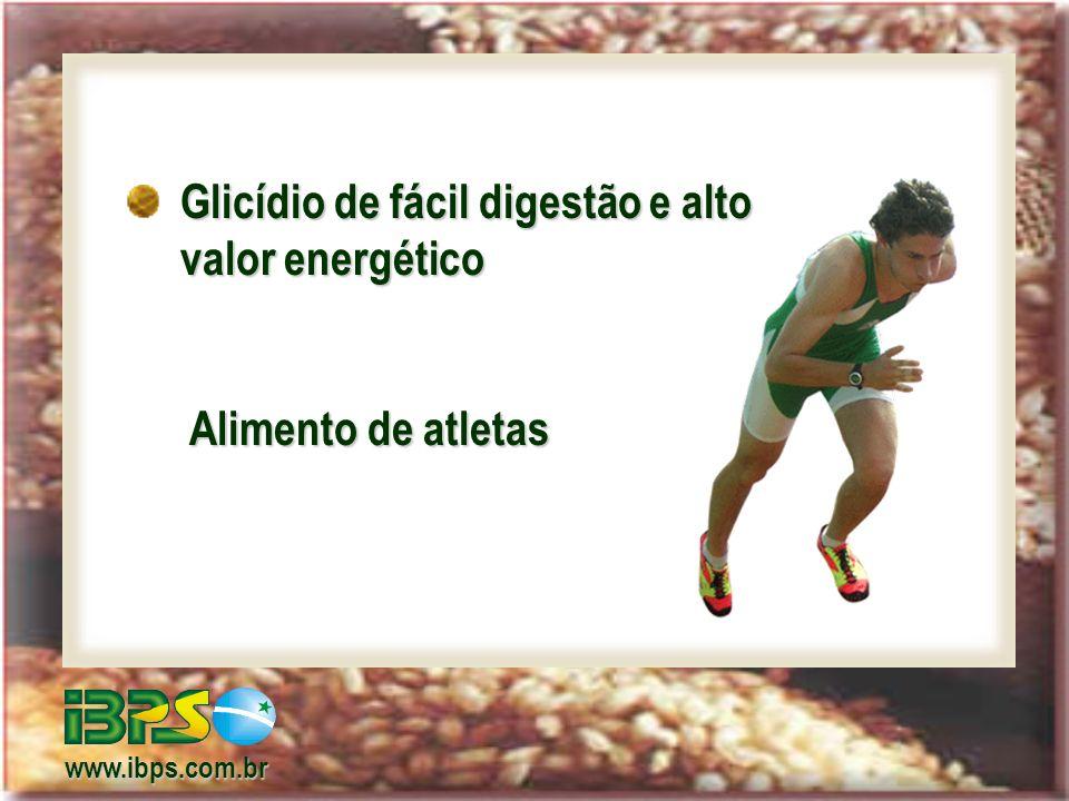 Glicídio de fácil digestão e alto valor energético