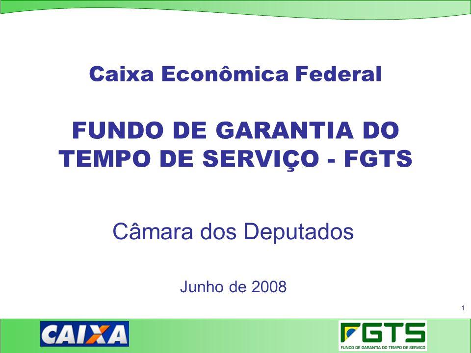 Caixa Econômica Federal FUNDO DE GARANTIA DO TEMPO DE SERVIÇO - FGTS