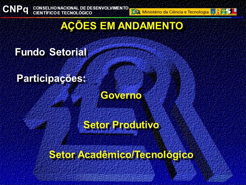 Setor Acadêmico/Tecnológico