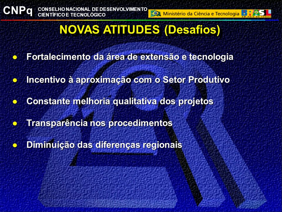 NOVAS ATITUDES (Desafios)