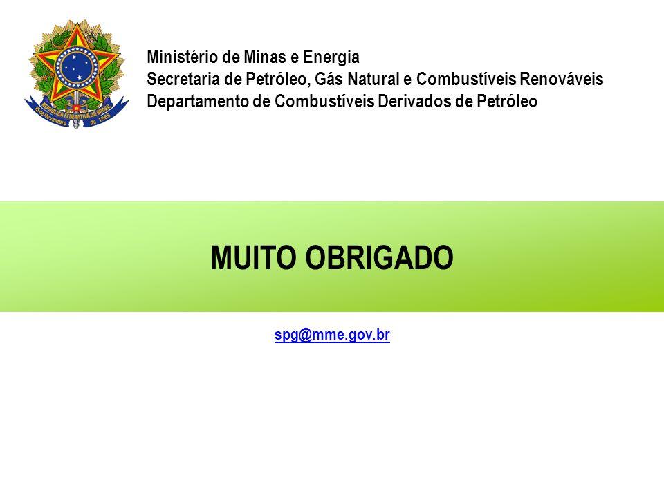 MUITO OBRIGADO Ministério de Minas e Energia