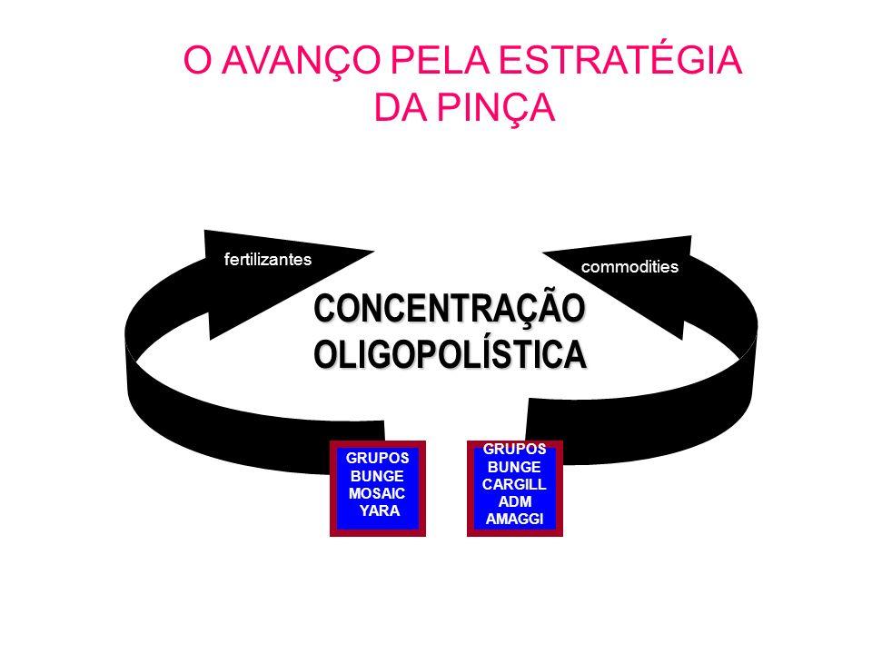 CONCENTRAÇÃO OLIGOPOLÍSTICA