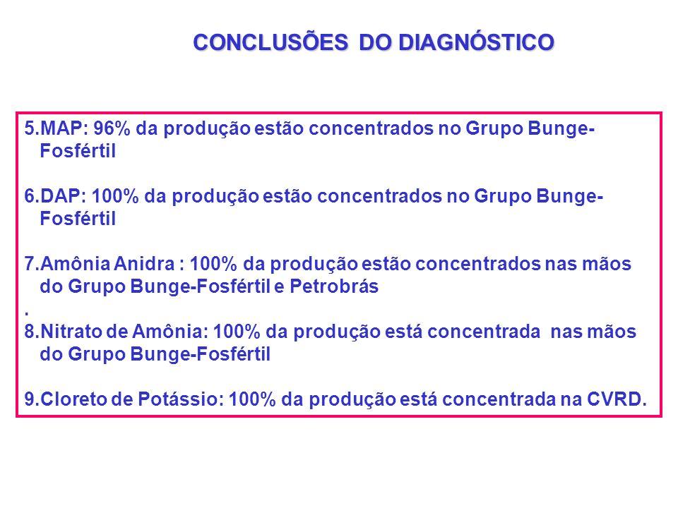 CONCLUSÕES DO DIAGNÓSTICO