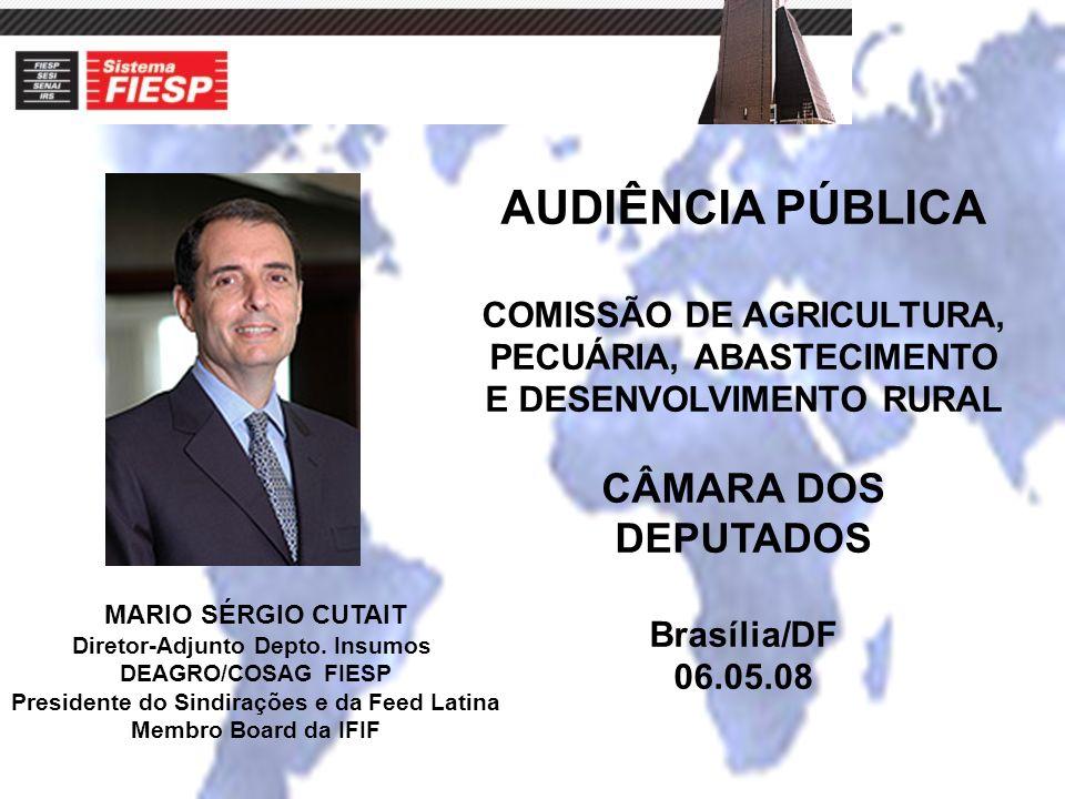 AUDIÊNCIA PÚBLICA CÂMARA DOS DEPUTADOS COMISSÃO DE AGRICULTURA,