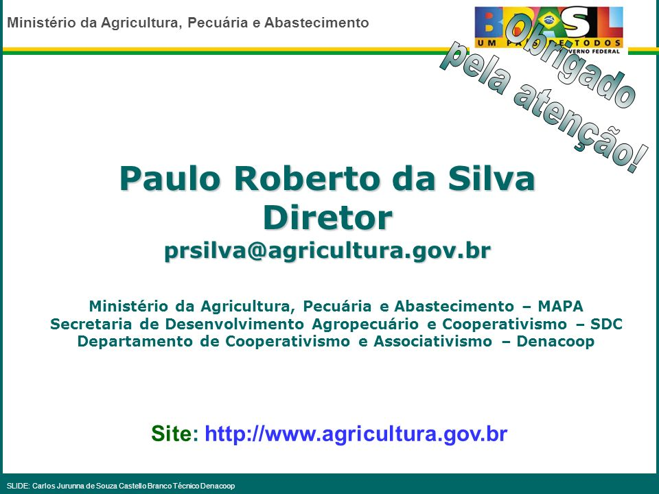 Paulo Roberto da Silva Diretor