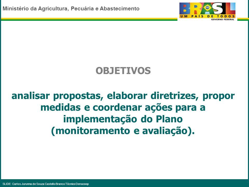 (monitoramento e avaliação).