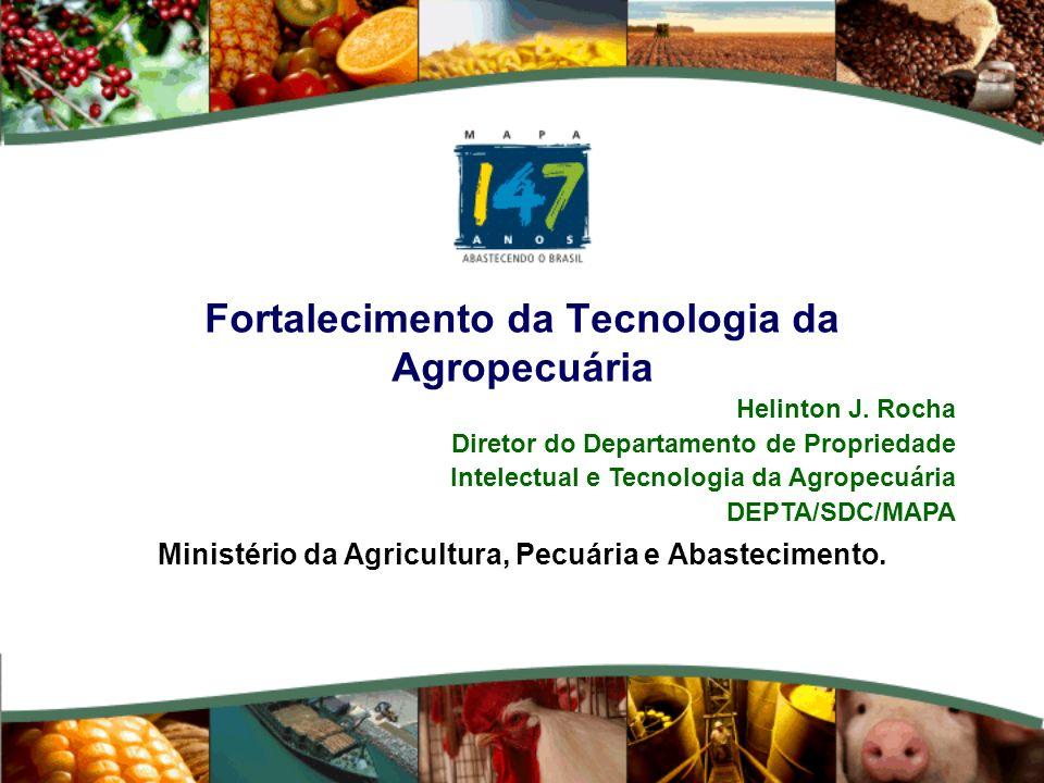 Fortalecimento da Tecnologia da Agropecuária