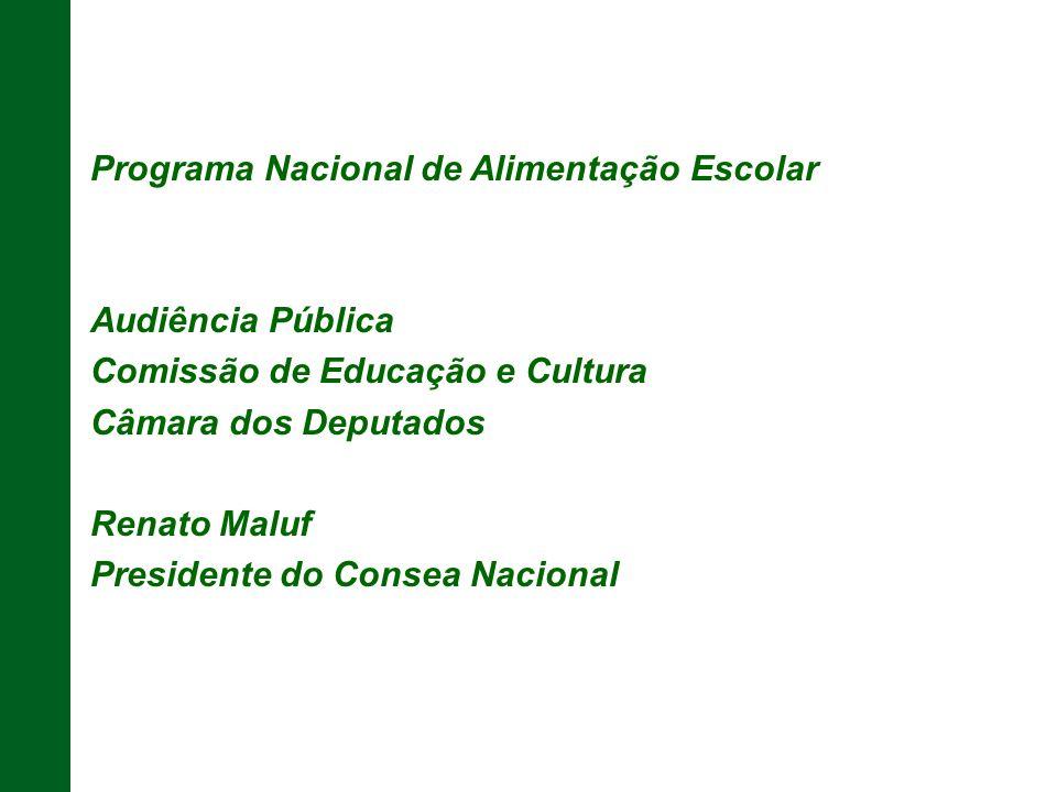 Programa Nacional de Alimentação Escolar