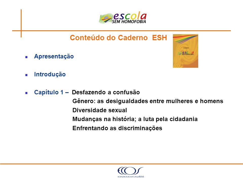 Conteúdo do Caderno ESH