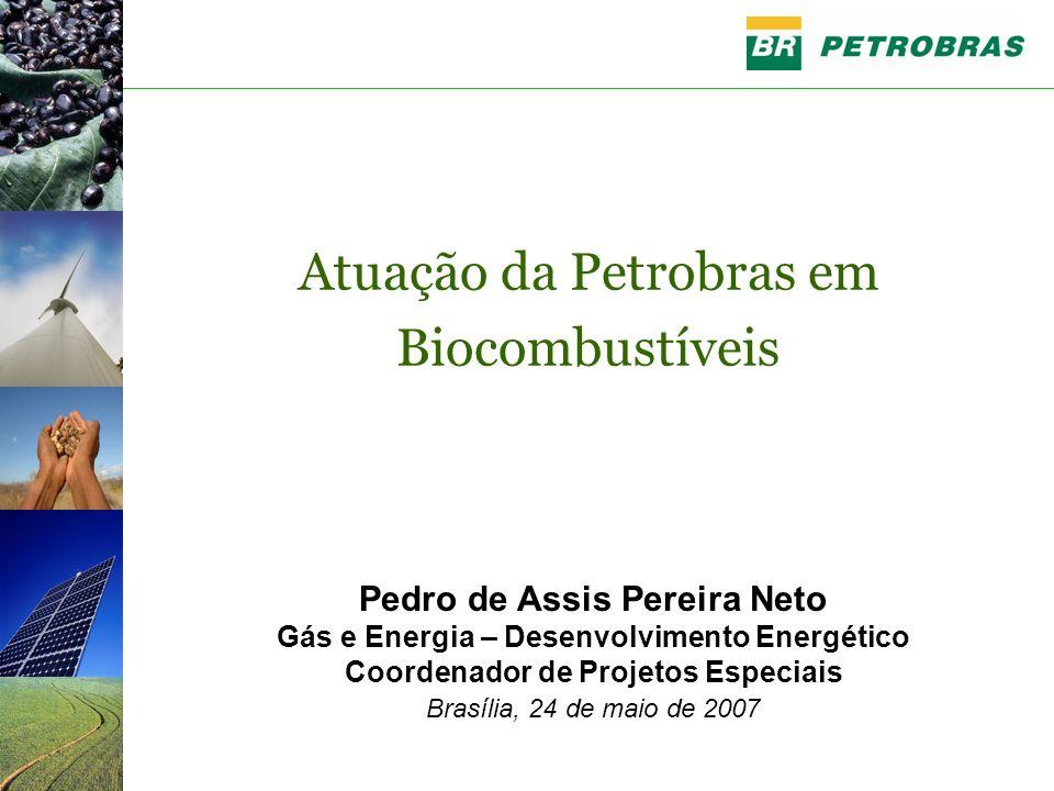 Atuação da Petrobras em Biocombustíveis