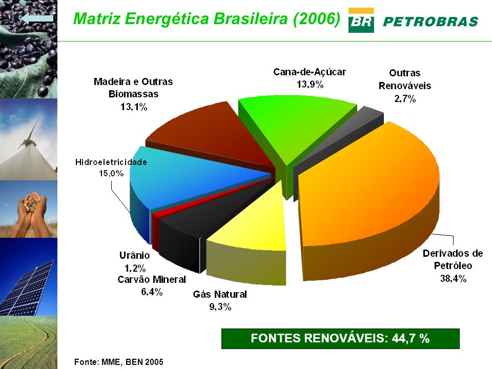Matriz Energética Brasileira (2006)